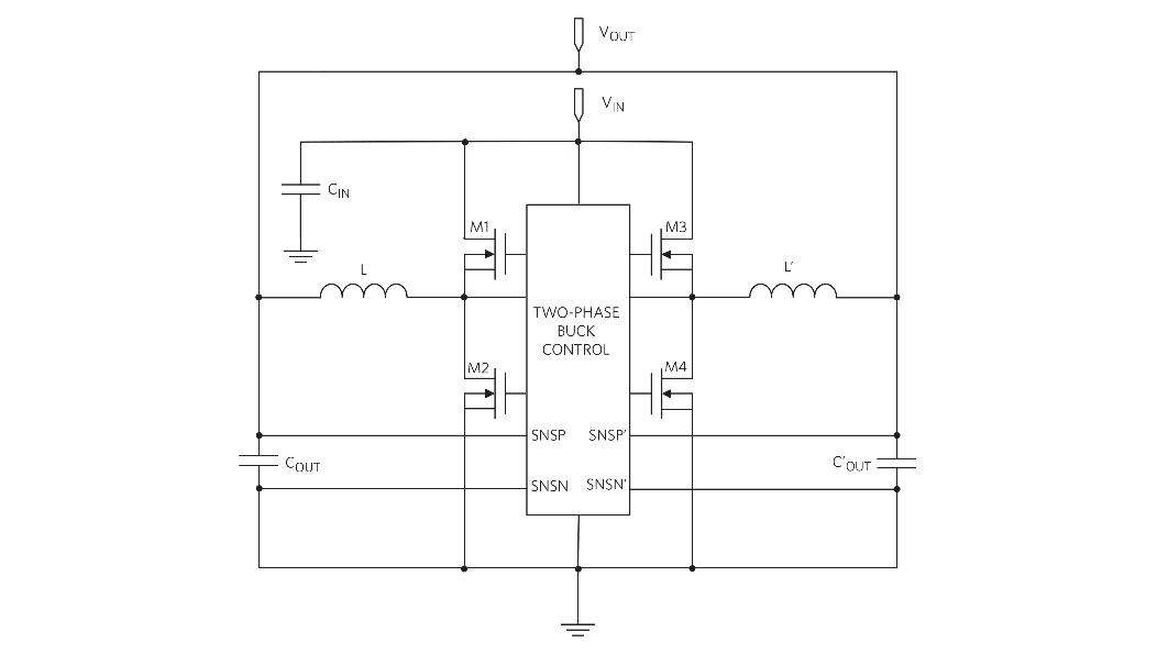 ステップダウン電圧レギュレータ